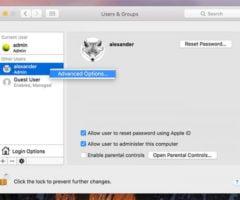 Как переименовать папку пользователя в Mac OS