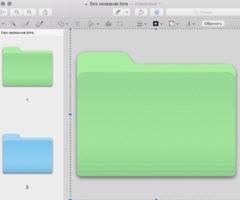 Как изменить вид папки в Mac OS