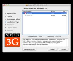 Как использовать NTFS в Mac OS